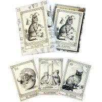【魔法の国のクラシカルキャッツ】猫のタロット