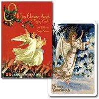 【オリジナルは18世紀のポストカード】トランプ オールドタイムクリスマス シングル