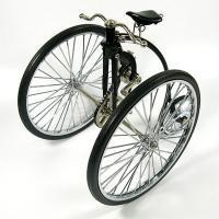 特別価格!【ミニチュア自転車模型】プレスオットディサイクル 1881 黒