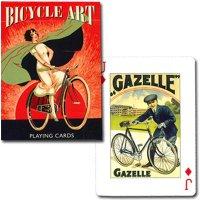 【世界を大きく変えた『自転車』がテーマのトランプ★】バイスクル・アート