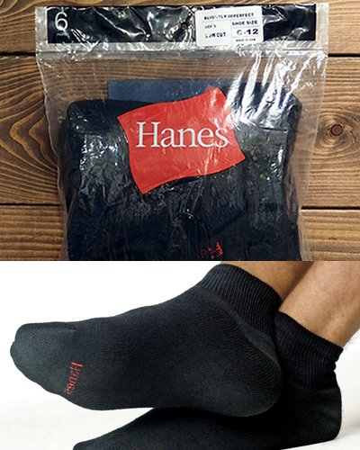 【Hanes】Men's Low Cut Socks 6-Pack