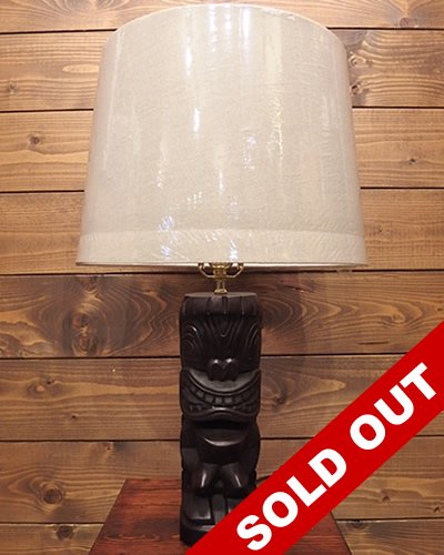 【EXOTIC WORKS】 -Tiki Lamp- No.004