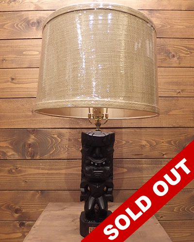 【EXOTIC WORKS】 -Tiki Lamp- No.005
