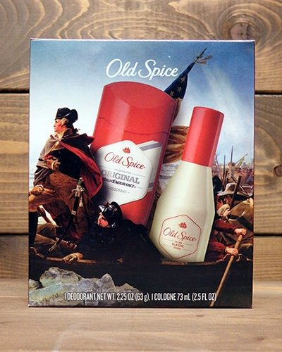 【OLD SPICE】 -COLOGNE BOX-