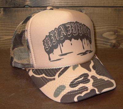 【CAMOUFLAGE MESH CAP】