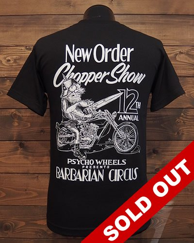 NEW ORDER CHOPPER SHOW 12th T-shirt
