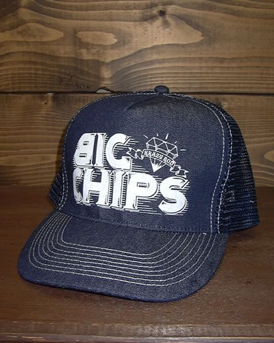 【DENIM MESH CAP】