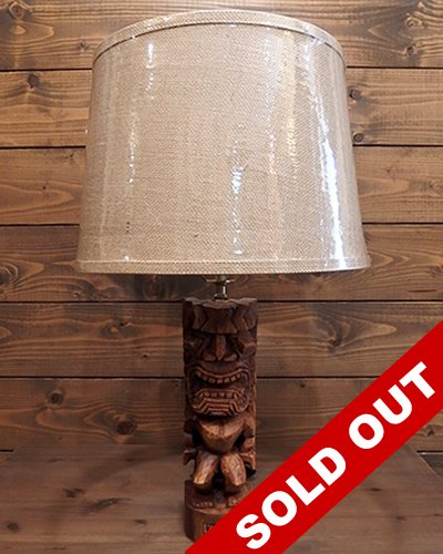 【EXOTIC WORKS】 -Tiki Lamp- No.007