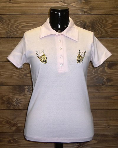 【LADIES POLO SHIRT】 -TWO FACE-