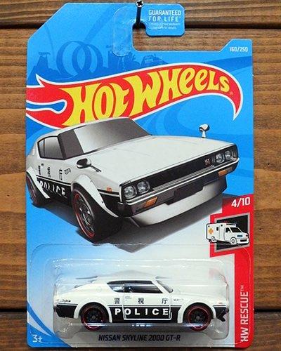 【Hot Wheels】NISSAN SKYLINE 2000 GT-R -WH-