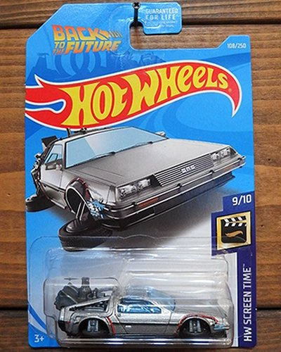 【Hot Wheels】BACK TO THE FUTURE TIME MACHINE