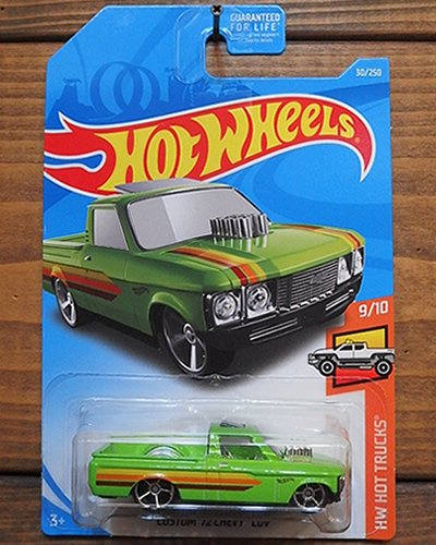 【Hot Wheels】CUSTOM '72 CHEVY LUV -LGR-