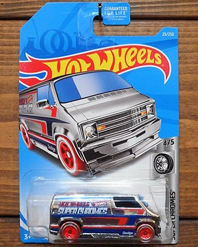 【Hot Wheels】CUSTOM '77 DODGE VAN