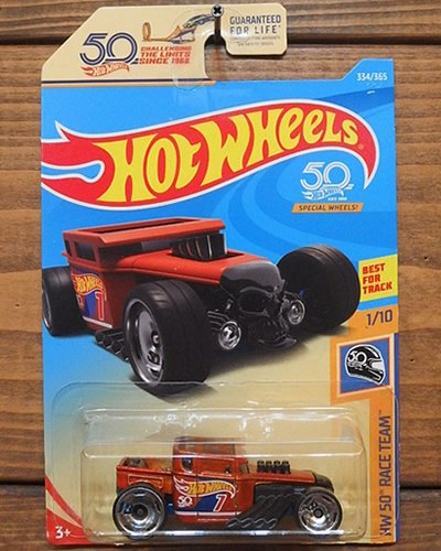 【Hot Wheels】BONE SHAKER -50th Wheels-
