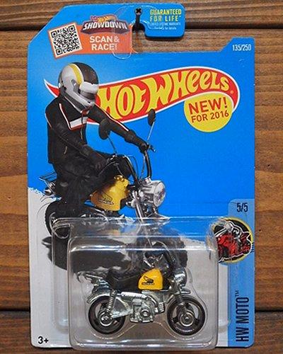 【Hot Wheels】HONDA MONKEY Z50 -YW-