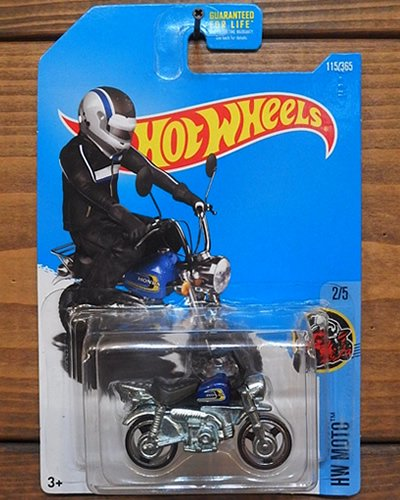 【Hot Wheels】HONDA MONKEY Z50 -BL-