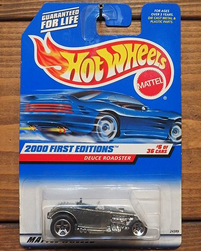 【Hot Wheels】DEUCE ROADSTER