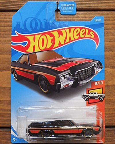 【Hot Wheels】'72 FORD RANCHERO -BK-