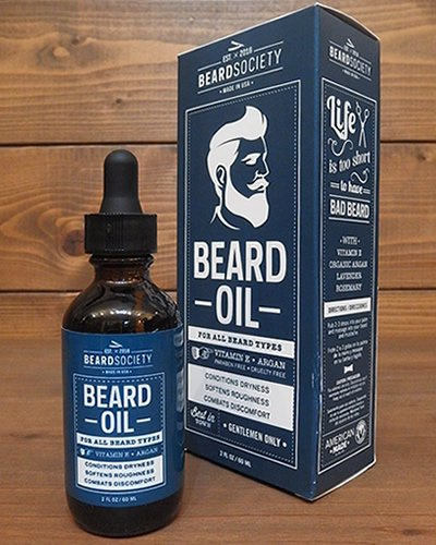 【BEARD SOCIETY】 BEARD OIL