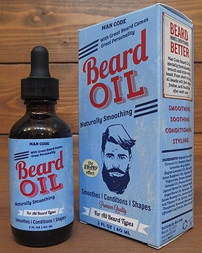 【MAN CODE】 BEARD OIL