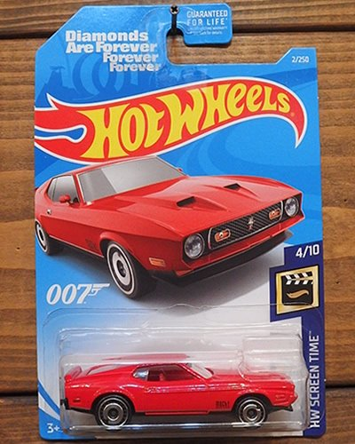 【Hot Wheels】'71 MUSTANG MACH 1 -007-