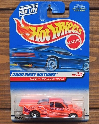 【Hot Wheels】CHEVY PRO STOCK TRUCK