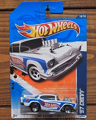【Hot Wheels】'57 CHEVY -RACING STYLE- WH