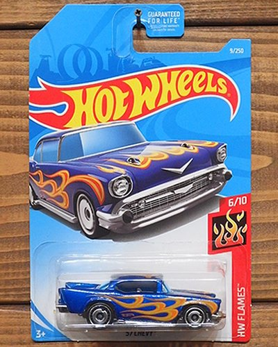 【Hot Wheels】'57 CHEVY -MBL-