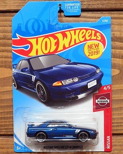 【Hot Wheels】NISSAN SKYLINE GT-R (BNR32) -MBL-