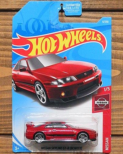 【Hot Wheels】NISSAN SKYLINE GT-R (BCNR33) -MRD-