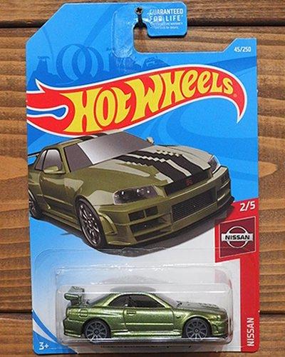 【Hot Wheels】NISSAN SKYLINE GT-R (BNR34) -MGR-