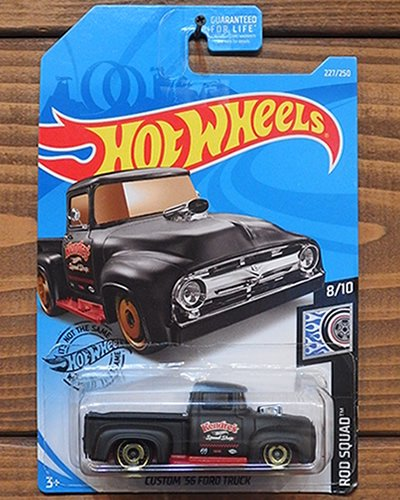 【Hot Wheels】CUSTOM '56 FORD TRUCK