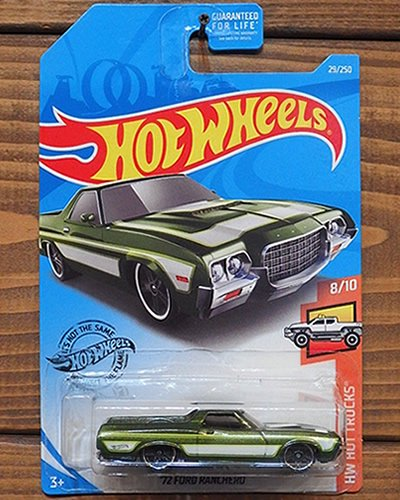 【Hot Wheels】'72 FORD RANCHERO -MGR-
