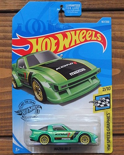 【Hot Wheels】MAZDA RX-7 -MGR-