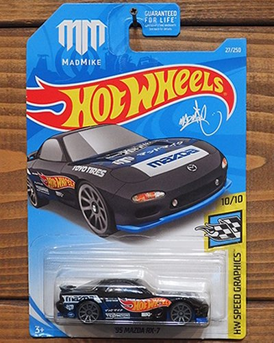 【Hot Wheels】'95 MAZDA RX-7 -MAD MIKE-