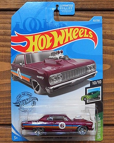 【Hot Wheels】'64 CHEVY CHEVELLE SS -BU-
