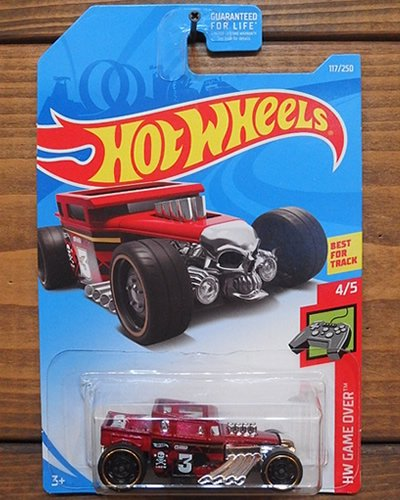 【Hot Wheels】BONE SHAKER -MRD-