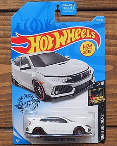 【Hot Wheels】2018 HONDA CIVIC TYPE R -WH-