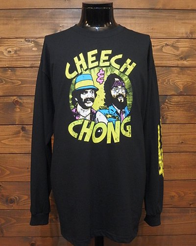 【Cheech & Chong】 LONG SLEEVE T-SHIRT