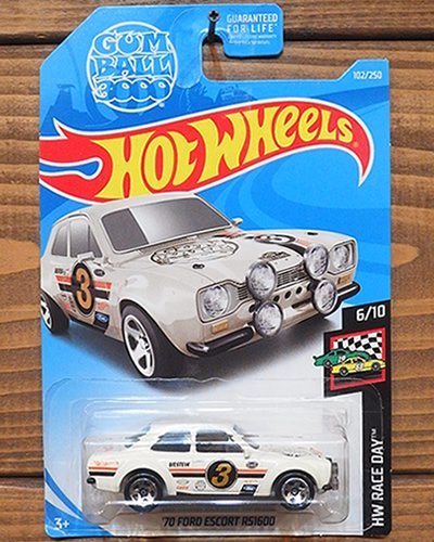 【Hot Wheels】'70 FORD ESCORT RS1600