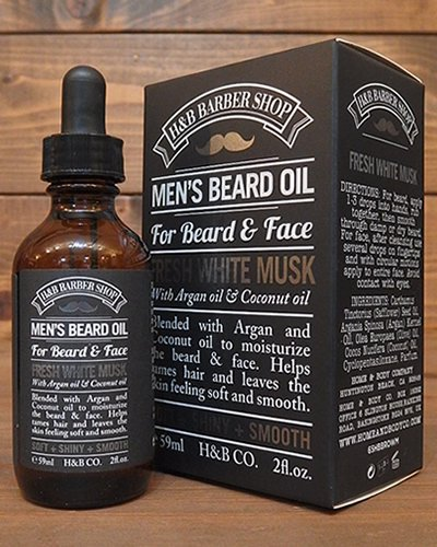 【HOME & BODY COMPANY】 BEARD OIL -MUSK-