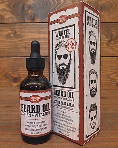 【SMOOTH GROOM】 BEARD OIL