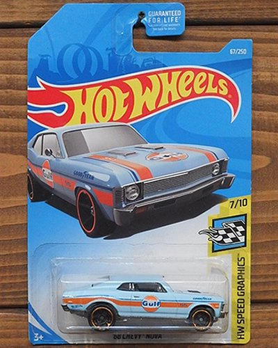 【Hot Wheels】'68 CHEVY NOVA