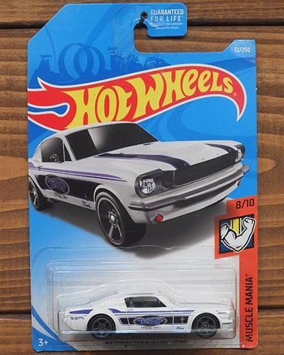 【Hot Wheels】'65 MUSTANG 2+2 FASTBACK