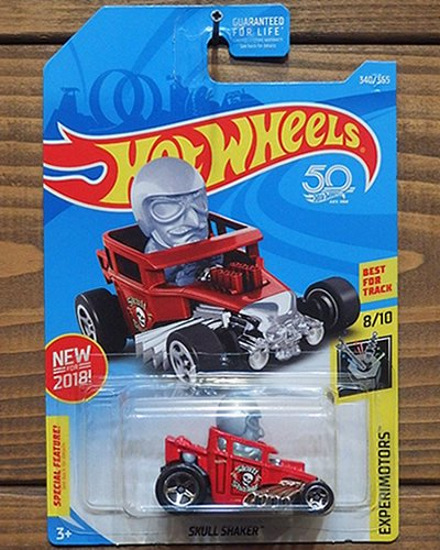【Hot Wheels】SKULL SHAKER -RD-