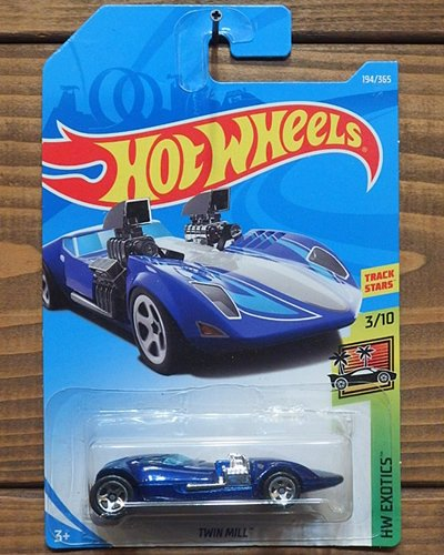 【Hot Wheels】TWIN MILL -MBL-