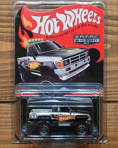 【Hot Wheels】1987 TOYOTA PICKUP -ZAMAC-