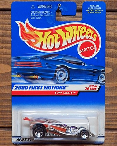 【Hot Wheels】SURF CRATE