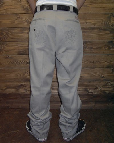 【KUSTOM WORK PANT】 -SPIDER WEB-