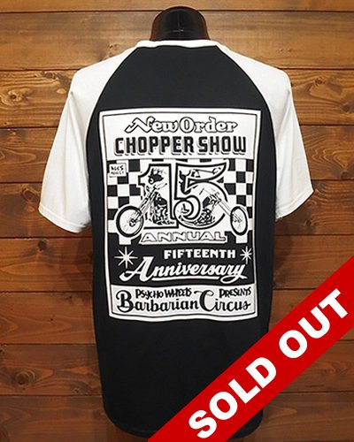 NEW ORDER CHOPPER SHOW 2020 WEB限定Tシャツ